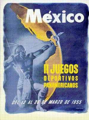 logo de los Juegos Panamericanos de México
