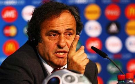 Platin� anuncia que no devolver� su regalo del Mundial de F�tbol 2014