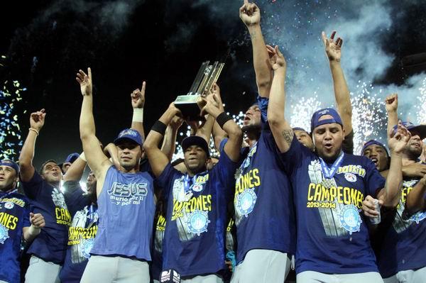 Los Navegantes del Magallanes se coronaron nuevamente campeones de la Liga Venezolana de Béisbol. Foto: Noticias 24