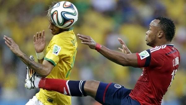 Jugar�n cara a cara el viernes Neymar y Z��iga