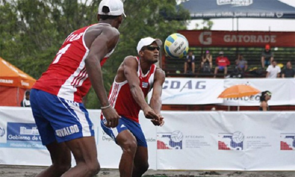 Cuban Men Pair advances to Round of 16 in Beach Volleyball World Championships
