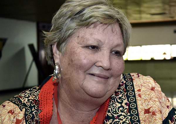 A sus más de seis décadas, Olivia González no descansa ni un instante para lograr siempre mejores reusltados económicos. Foto: Iván Morales Morales