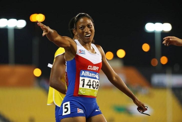Omara Durand, abanderada cubana a los VI Juegos Parapanamericanos