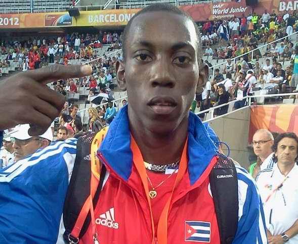 Cubano Pichardo, metal plateado en Mundial de Atletismo