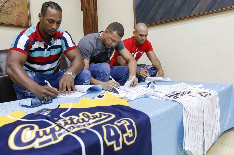 Three Cubans involved in the Grand Final of the Can-Am Baseball League