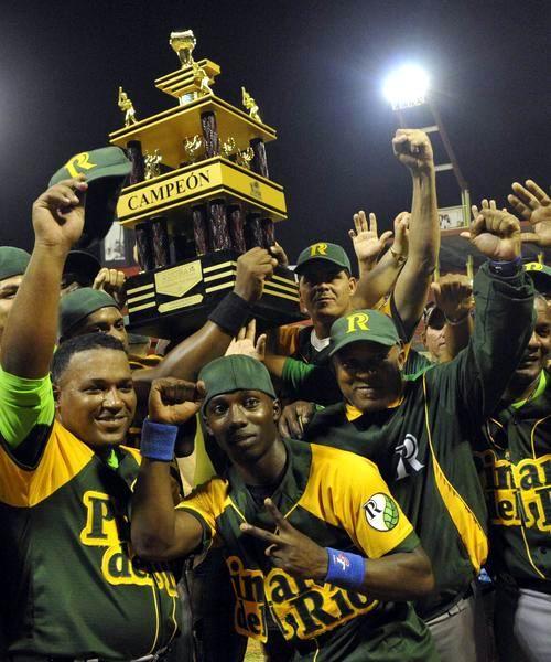 El equipo de Pinar del Río se tituló campeón de la 53 Serie Nacional de Béisbol, tras vencer a la selección de Matanzas, en el estadio Victoria de Girón, el 16 de abril de 2014. AIN FOTO/Marcelino VAZQUEZ