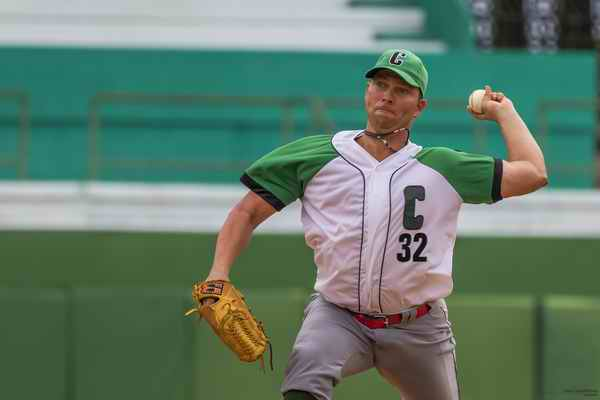 Norberto González, Pitcher de Cienfuegos. Foto: Aslam Castañón