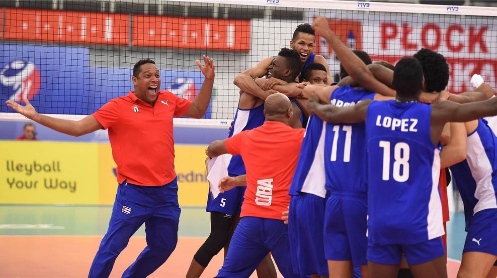 Cuba loses to Poland in final of Men U21 World Volleyball Championship