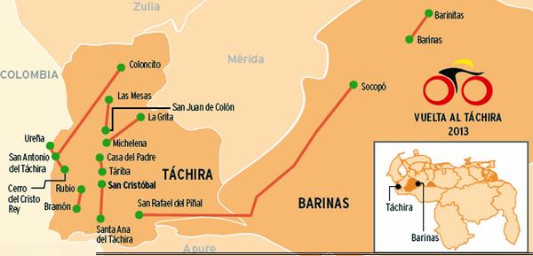 Vuelta Ciclística al Táchira 2013