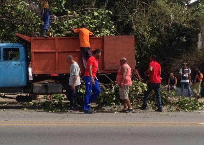 Deporte cubano a pie de obra