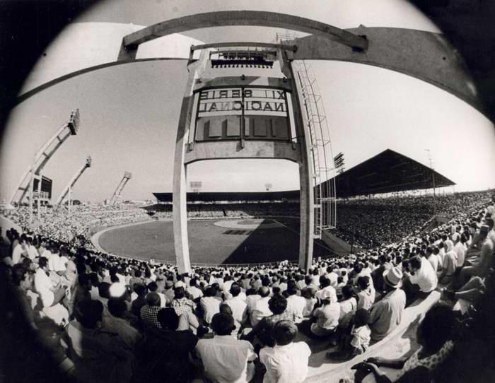 Remodelación del Estadio Latinoamericano en 1971