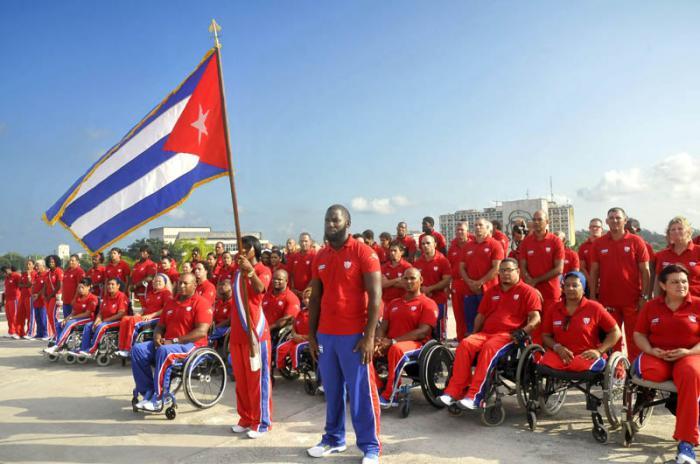 Cuban athletes depart for Toronto ParaPan Am Games