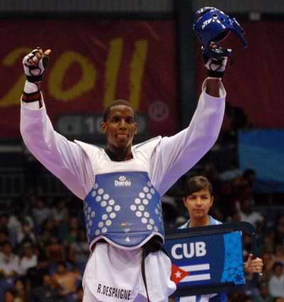 Taekwondoca Robelis Despaigne primero en el ranking mundial