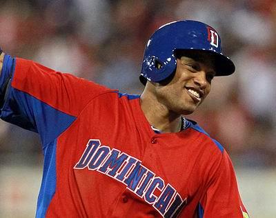 El camarero de la selección de República Dominicana, Robinson Canó, seleccionado como el Jugador Más Valioso del certamen. Foto: mlb.com
