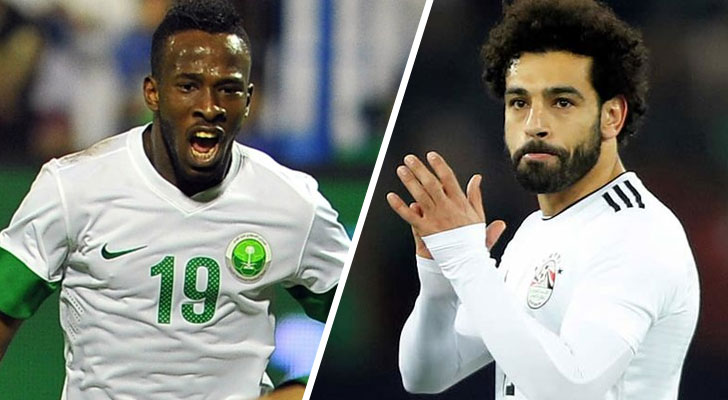 Conozca cómo llegan al partido de hoy Arabia Saudita y Egipto