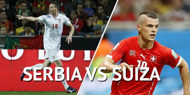 Previa Suiza vs. Serbia