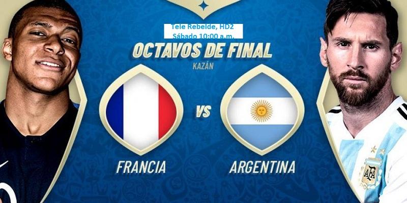 Previa Argentina vs. Francia