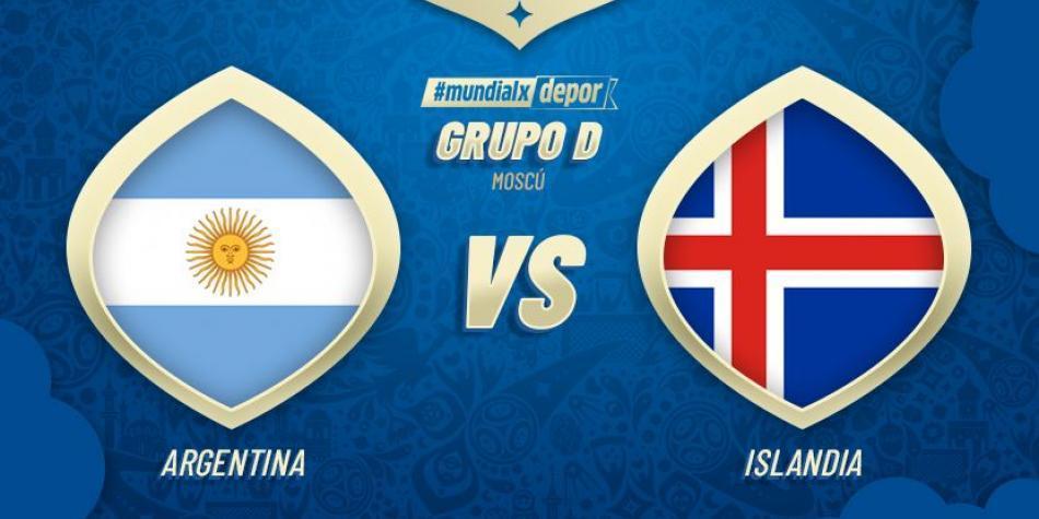 Previa Argentina vs Islandia en Russia 2018