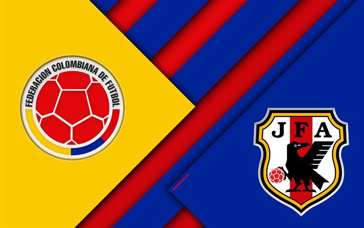 Se enfrentan las selecciones de Colombia y Japón