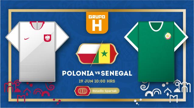 Previa Polonia vs. Senegal