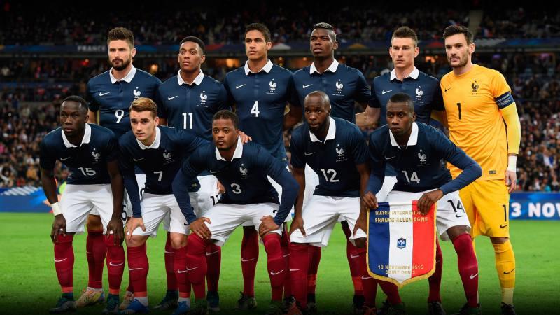 Francia vs. Croacia en la final del Mundial Rusia 2018