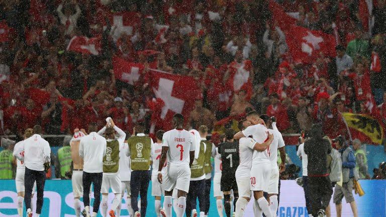 La victoria Suiza