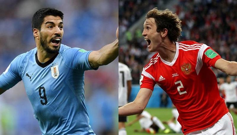 Conozca cómo llegan al partido de hoy Uruguay y Rusia