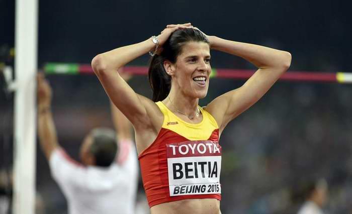 Ruth Beitia, candidata a mejor atleta europea del 2016