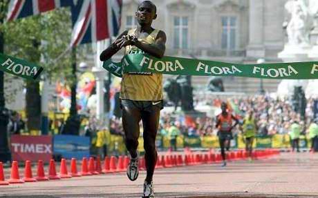 El maratón masculino, última prueba del atletismo en los Juegos Olímpicos de Londres 2012, rendirá homenaje póstumo a su campeón, Sammy Wanjiru, que murió el año pasado en confusas circunstancias a los 24 años