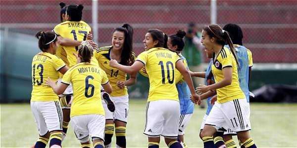 Clasifican futbolistas colombianas para Juegos Panamericanos