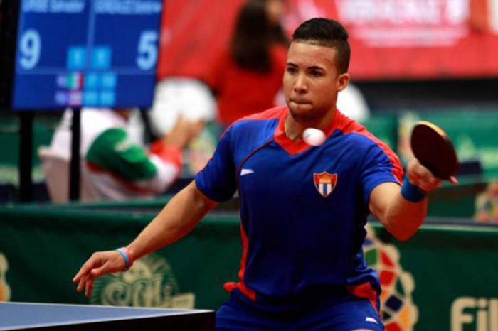 Tendrán rivales complicados tenistas de mesa cubano