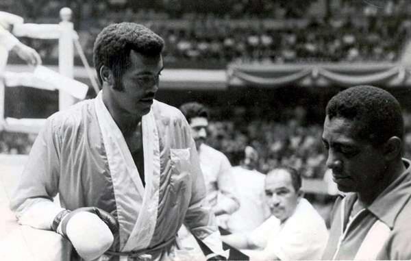 Boxeador cubano Teófilo Stevenson