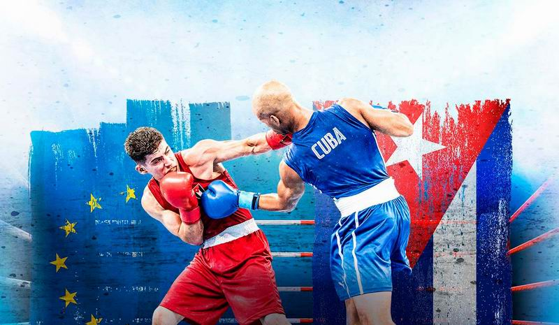 Cuba contra Europa en tope de boxeo