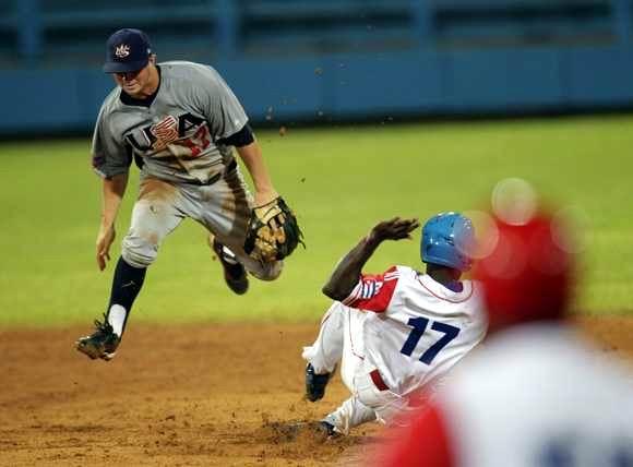 Tope beisbolero Cuba-Estados Unidos