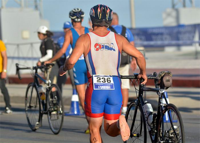 IV triatlón de La Habana 2018. Foto: Abel Rojas