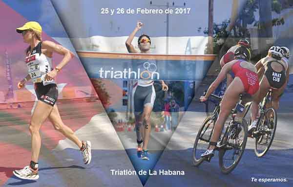 Tendrá Triatlón Internacional de La Habana récord de participantes