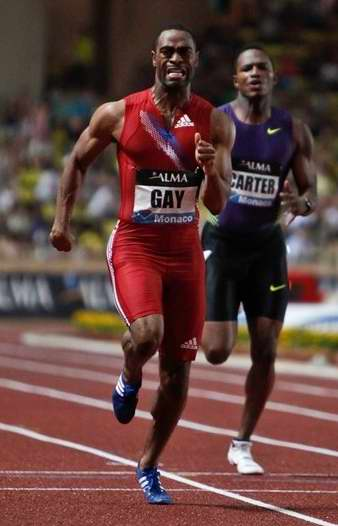 Tayson Gay, uno de los mejores sprinter del orbe