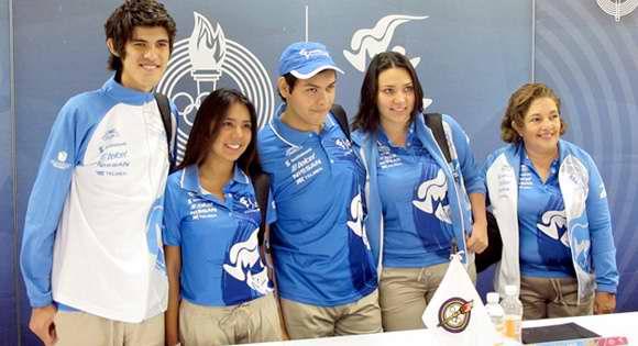 Los voluntarios Panamericanos ya tienen su uniforme