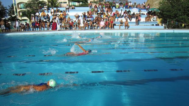 Copa Máster de Natación: hombres y mujeres que desafían el almanaque