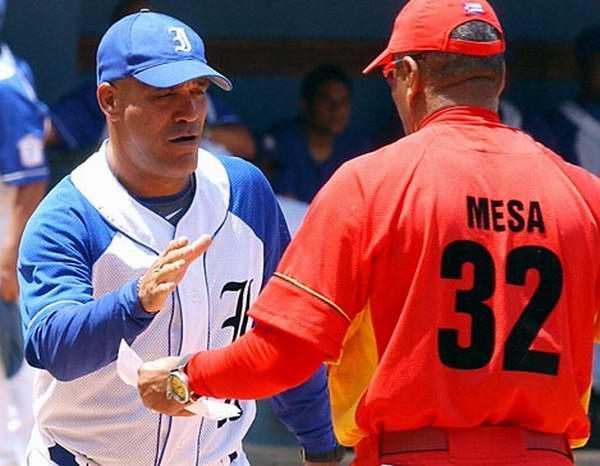 Víctor Mesa y Lázaro Vargas