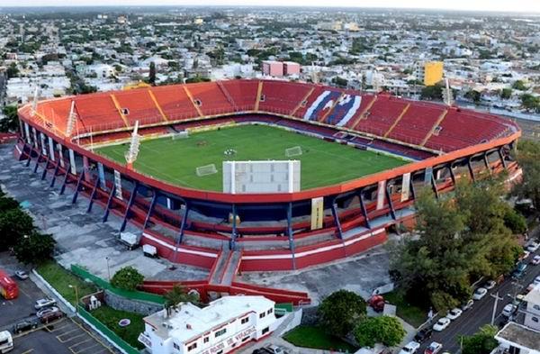 Estadio olímpico Veracruz 2014.