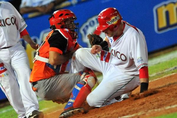 Los Naranjeros de Hermosillo pisaron nueve veces el home plate.Foto: Ricardo López Hevia