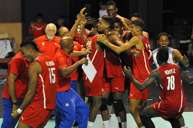 Pre-mundial de Voleibol: Los cubanos sacaron la casta (+Audio)