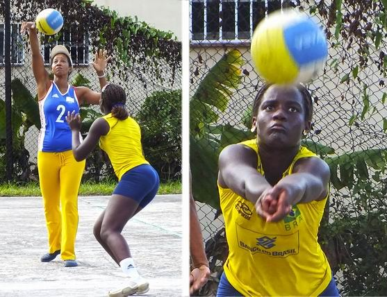 El voleibol es uno de los más atractivos deportes en equipo. Foto Abel Rojas