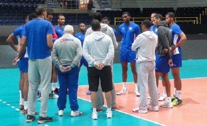 En Tampere voleibolistas cubanos para concluir serie mundial