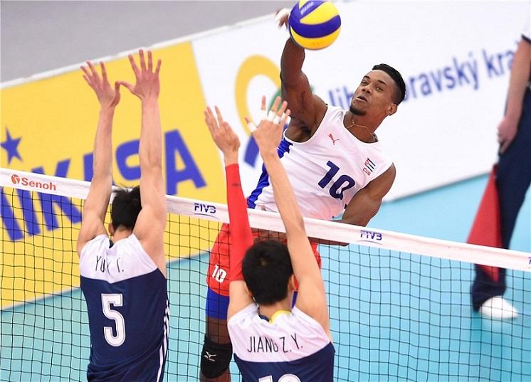 Voleibol (m) cubano de mayores consigue boleto para los Panamericanos de Lima