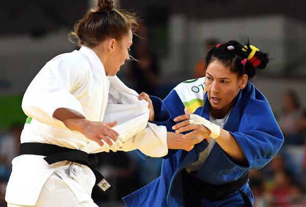 Finaliza quinta la judoca Castillo en Río 2016. Foto: Rocardo López Hevia