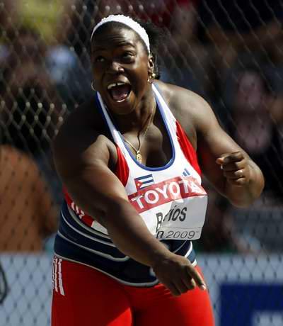 En el estadio Saint Denís, de París, acaba de efectuarse una parada de la Liga de Diamante, y en ella, nuestra medallista de bronce olímpica y mundial, la discóbola Yarelis Barrios, no pudo pasar de los 58 metros 49 centímetros, y fue sexta en la competencia