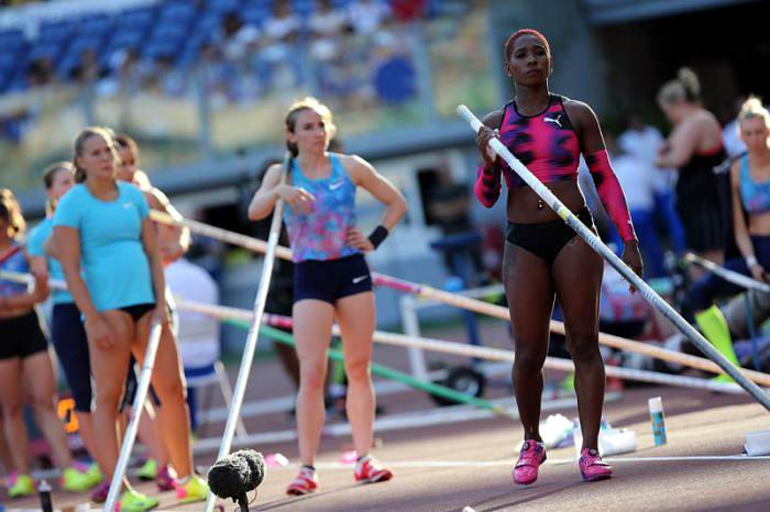 Cuban pole vaulter Silva wins silver in Golden Gala in Rome