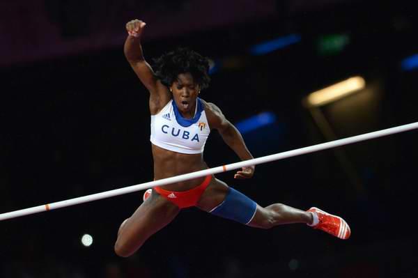 Cubana Yarisley Silva inconforme con su resultado en Liga de Diamante